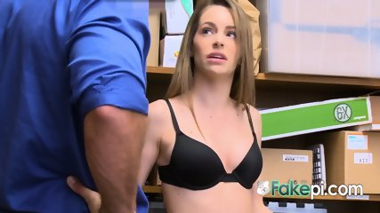 Kimmy Granger gets fucked hard in several positions by officer