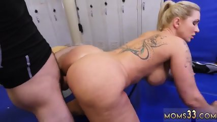 Fat white girl Dominant MILF Gets A Creampie After Anal Sex