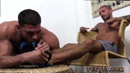Gay old man smelling feet Johnny Hazzard Stomps Ricky Larkin