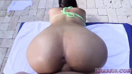 Arab french double anal and hot dance first time My very first Creampie
