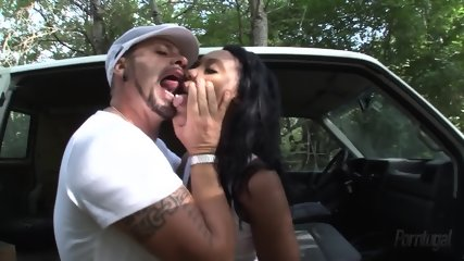 Latina Fucked Hard In Forest - scene 3