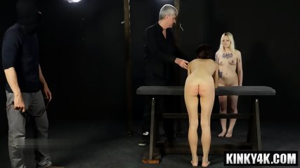 Hot Slave Bdsm With Cumshot