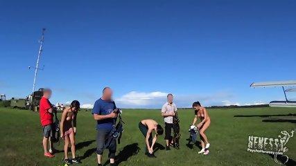 Naked Parachuting - scene 1