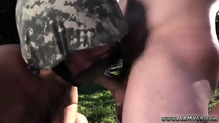 Military army nude gay sex Taking the recruits on their first run