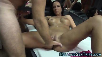 Busty dutch whore rides