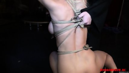 Tied Bitch At Kinky Show - scene 5