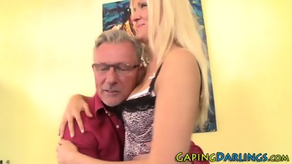 Blondes gaping ass fucked