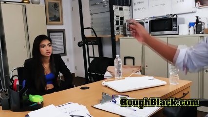 Latina gets cunt stuffed by black casting agent�s BBC in doggystyle