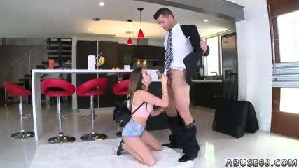 Teen and her dildo Melissa Moore Begs For Rough Sex