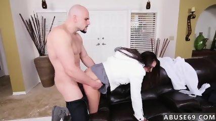 Ball spanking Babysitters love rock hard cock