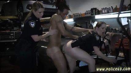 Milf 18 and amateur skinny Chop Shop Owner Gets Shut Down - scene 10