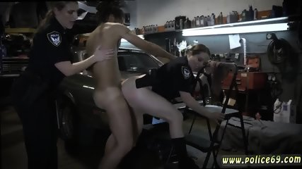 Milf 18 and amateur skinny Chop Shop Owner Gets Shut Down - scene 11