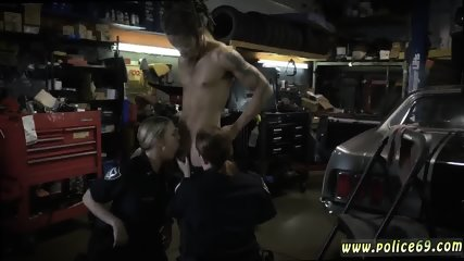 Milf 18 and amateur skinny Chop Shop Owner Gets Shut Down - scene 4