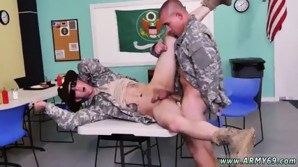 Uncut cock oral gay sex Yes Drill Sergeant! - scene 4