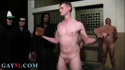 College guys fucking gay anal sex This week s HazeHim subjugation winners got a little