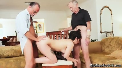 Old man young girl gangbang and big dick first time More 200 years of manhood for this
