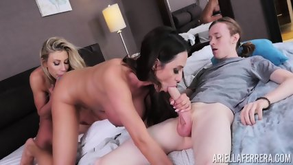 Two Mature Whores Share Cock - scene 4