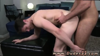 First gay blowjob video Doggy style, side-by-side, Alex is willing to bottom for Sam