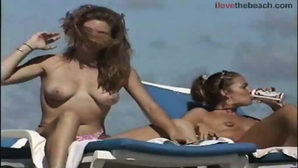 Sweet babes taking the sun Naked - scene 8