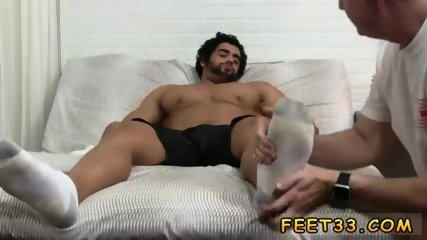 Gay twink jacks off and shows feet Alpha-Male Atlas Worshiped