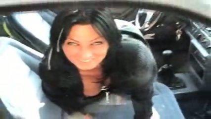 German Slut fucking on Parking Lot after Shopping - scene 5