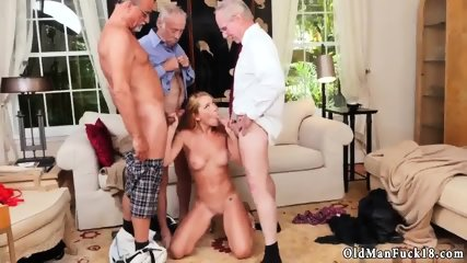 Teen bi train fuck Frannkie And The Gang Tag Team A Door To Door Saleswoman