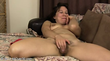 Playing With Hairy Mature Pussy - scene 9
