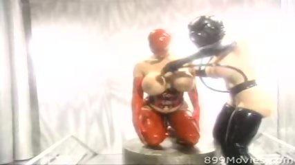 Busty lesbians in kinky fetish scene - scene 2