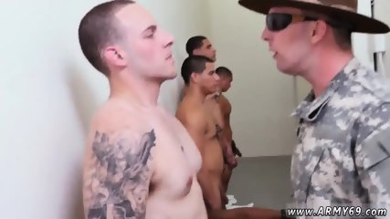 Nude black horny gay boys and fat man big dick Yes Drill Sergeant!