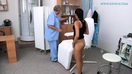Pussy Exam By Kinky Doctor - scene 1