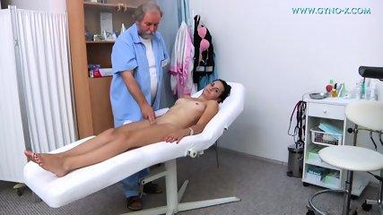 Pussy Exam By Kinky Doctor - scene 4