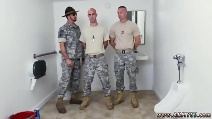 Penis gay military boys with underwear Good Anal Training