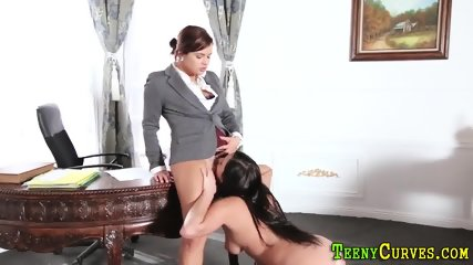 Big booty lesbian licked
