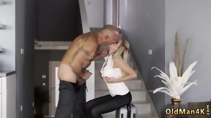Old father and brutal hairy fuck granny Finally at home, finally alone!
