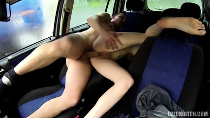 Fucking With Whore In The Car - scene 5