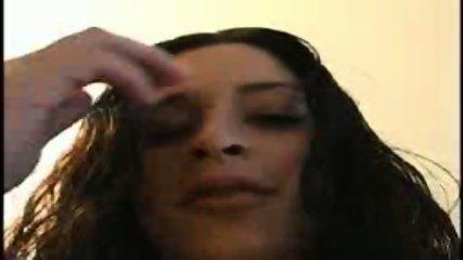 Slut gets huge load in her face - scene 1