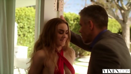 VIXEN Naughty Mistress Loves Teasing Her Man In Front Of His Wife - scene 3