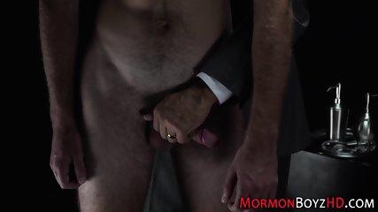 Kinky mormon gets spanked
