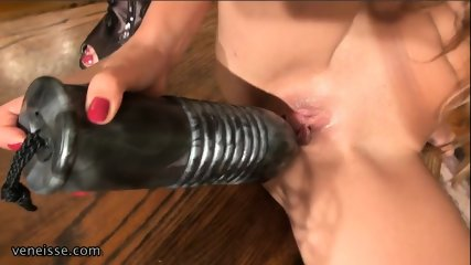 Fun With Enormous Dildos - scene 3