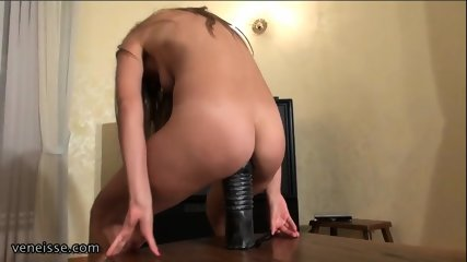 Fun With Enormous Dildos - scene 5