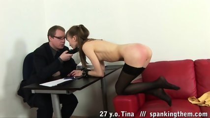 Slut On Duty Serves Kinky Elegant Man