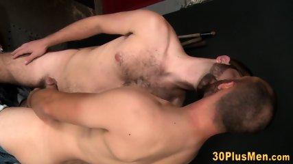 Pounded tattooed stud