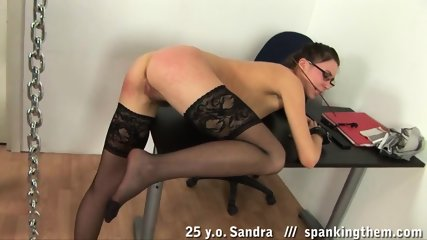 Punishment For Sex Slave Sandra - scene 9