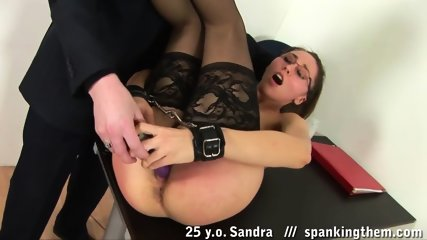 Punishment For Sex Slave Sandra - scene 12