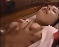 Asian Babe getting her Tits massaged - scene 8