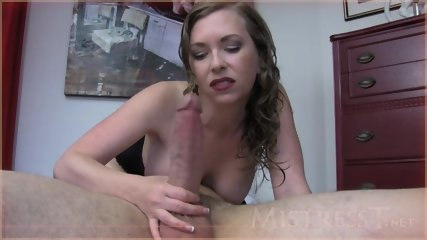 Horny Housewife Takes Care Of Dick - scene 1