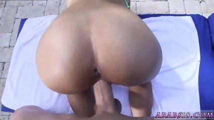 Arab wife ass xxx My very first Creampie