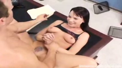 Rebellious Dana gets her tattooed pussy fucked by the dean - scene 7