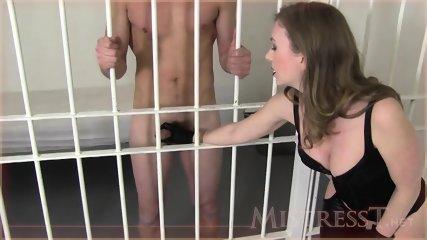 Prisoner Licks Her Wet Pussy - scene 3