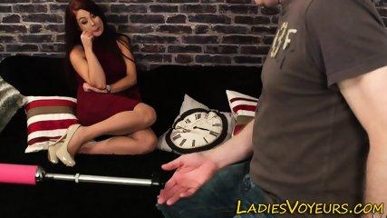 Cfnm fetish babe watches